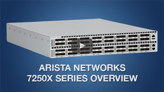Arista 7060X Series - 40GbE and 100GbE Data Center Switches - Arista