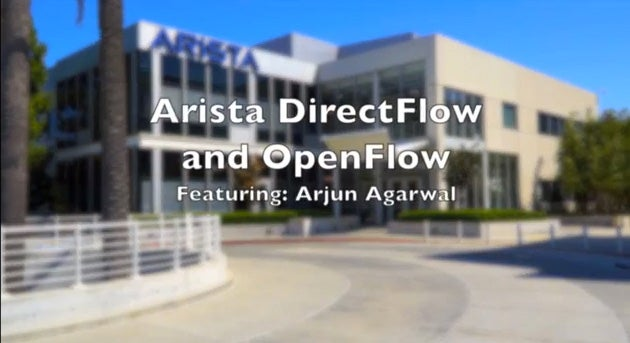 Arista OpenFlow and DirectFlow